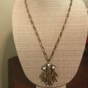 J crew long necklace